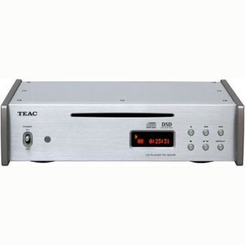 TEAC PD-501HR S Reproductor Compact Disc, DSD Y PCM, Silver