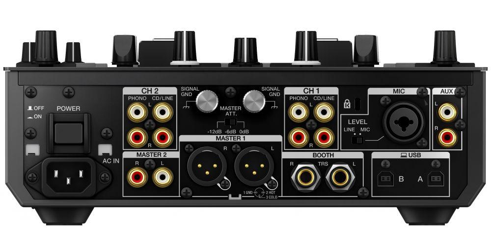 conexiones Pioneer DJM S9