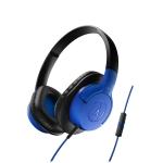 Audio-Technica ATH-AX1iS-BL Auricular Azul