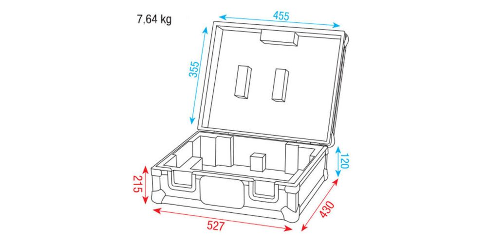 dap audio turntable case d7328b picture