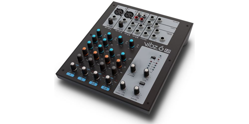 LD Systems New VIBZ 6 Mixer