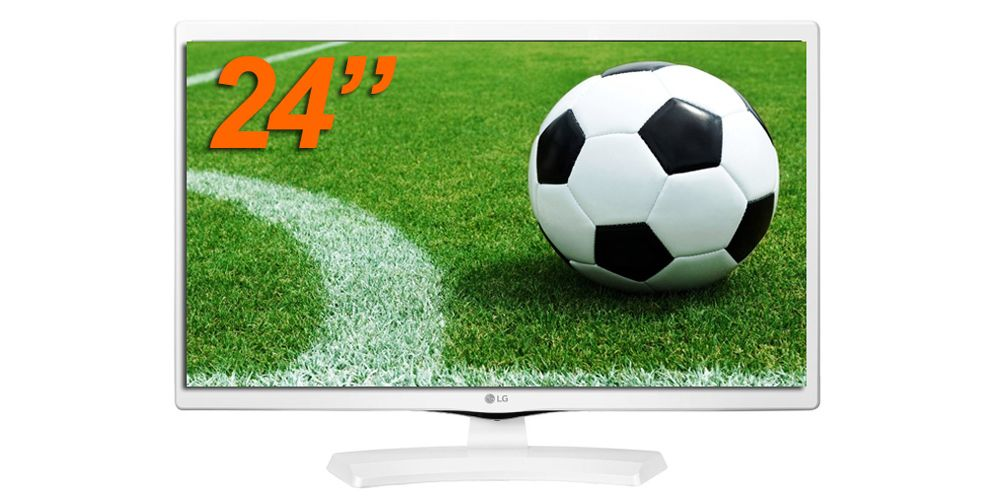 tv 23 24 blanca barata lg 24mt48dw