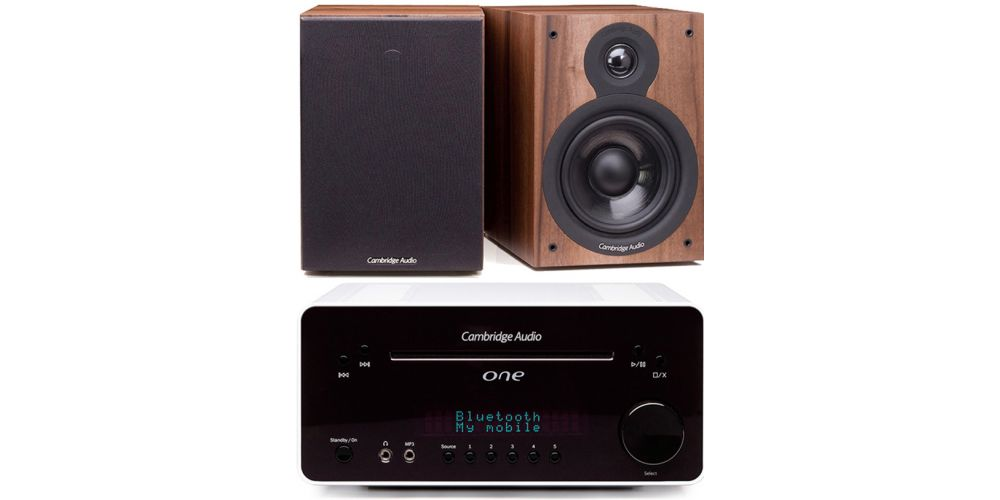 cambridge audio one white blanco sx50 walnut