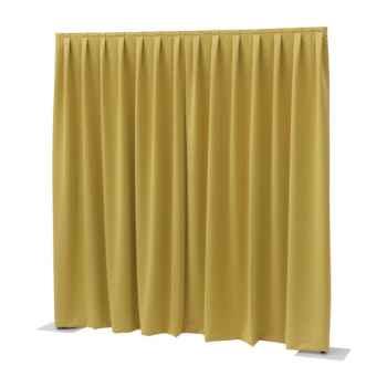Showtec P D curtain Dimout Cortina Amarilla 89450