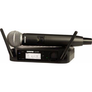 SHURE GLXD24RE SM58 Z2 Micrófono inalámbrico vocal de mano