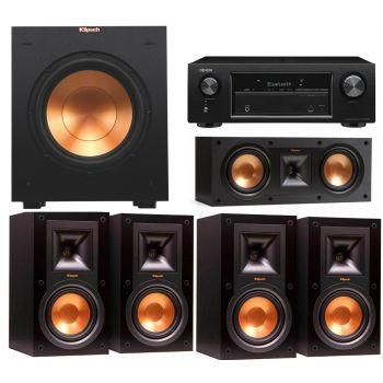 DENON AVR-X540 BK+Klipsch R-15MIIHC ,Conjunto 4-R15MII, R25CII, R10SW