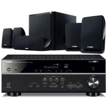 Yamaha YHT-4852  Receptor AV RXV-485 + Altavoces Home Cinema NS-P20