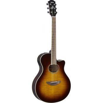 YAMAHA APX 600FM TBS Tobacco Brown SB Guitarra Electro Acustica