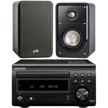 DENON RCDM-41 Negra + Polk Audio Signature S15