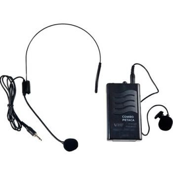 Acoustic Control Portable Petaca Micrófono inalámbrico de petaca VHF para Serie Portable de Acoustic Control
