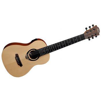 LAG GLUTKT150E Guitarra Mini Electro-Acústica Serie TIKI UKU