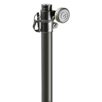 Gravity LS 431 B Soporte de iluminación con base cuadrada de acero y opción de montaje para pesos