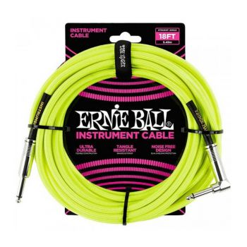 ERNIE BALL 6085 Cable Instrumento Jack a Jack 4,57 Mt