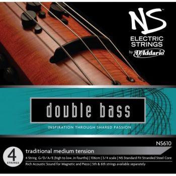 D´addario NS610 Juego de 4 cuerdas para contrabajo eléctrico