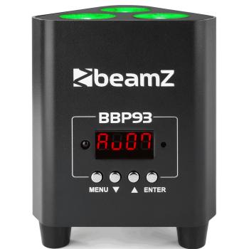 Beamz BBP93 Foco Par Con Bateria 3 X 10W 150585