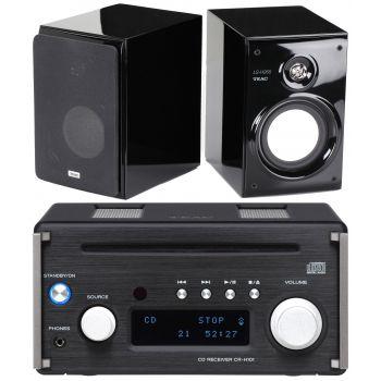 TEAC CRH101-BK+LSH265 conjnto audio