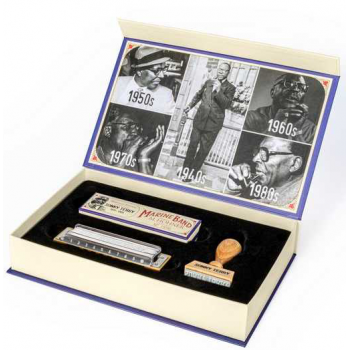 Hohner Sonny Terry Heritage Edition Armónica Signature.