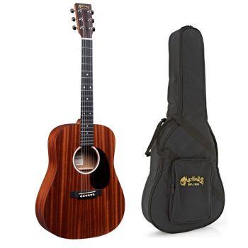 Martin DJR-10E-SAPELE Guitarra Electroacústica con Funda