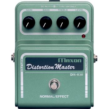 Maxon DS-830 Distortion Master Pedal Efectos Guitarra