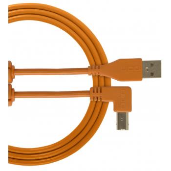Udg U95004OR Ultimate Cable USB 2.0 A-B Orange en Angulo 1M