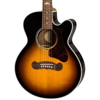 Epiphone EJ-200SCE Coupe Vintage Sunburst Guitarra Electroacústica