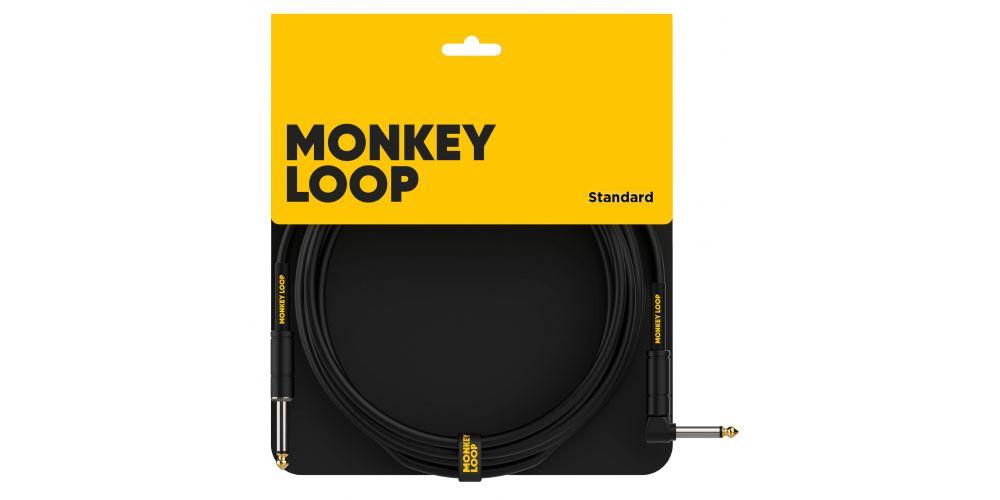 monkey loop standard cable jack mono jack acodado packaging