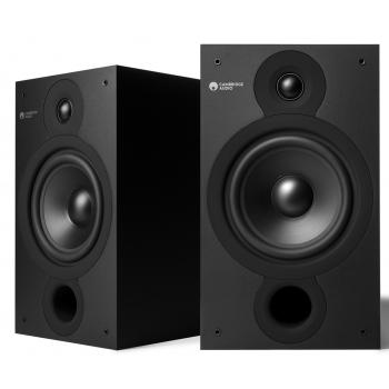 Cambridge Audio SX-60 MATT Black  Serie V2 Altavoces HiFi Estantería Pareja