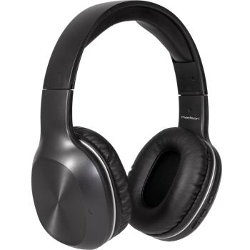 Madison MAD-HNB100 Auricular Bluetooth y Cable con Reductor de Ruidos