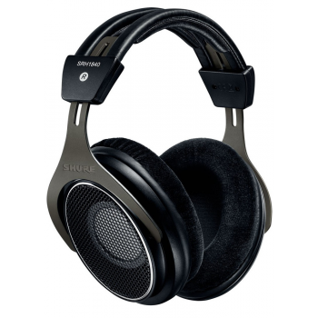 SHURE SRH1840-BK Auriculares Profesionales Semi-Abiertos para Mezcla y Mastering