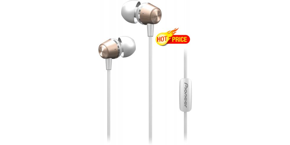 Pioneer SE QL2T G auriculares in ear micro