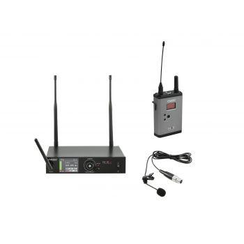 PSSO Set WISE ONE Micrófono Inalámbrico de Solapa 638-668MHz