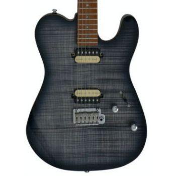 Larry Carlton by Sire T7 FM Guitarra Eléctrica Transparent Black