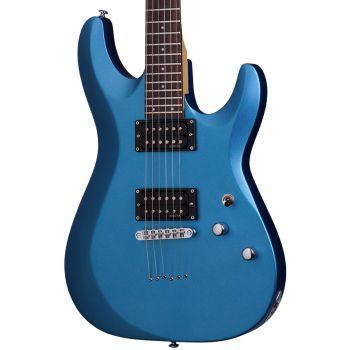 Schecter C-6 Deluxe Satin Metallic Light Blue. Guitarra Eléctrica