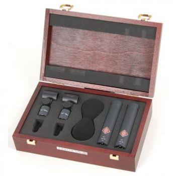 NEUMANN KM-184 Stereo Set Microfono Cardioide, Negro