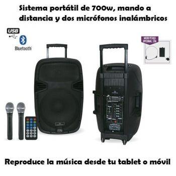 ACOUSTIC CONTROL COMBO 15 Altavoz con Bateria Bluetooth ( REACONDICIONADO )