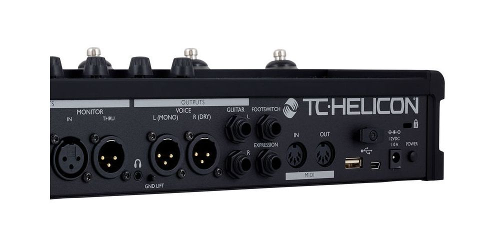 TC Helicon VoiceLive 3 Extreme back