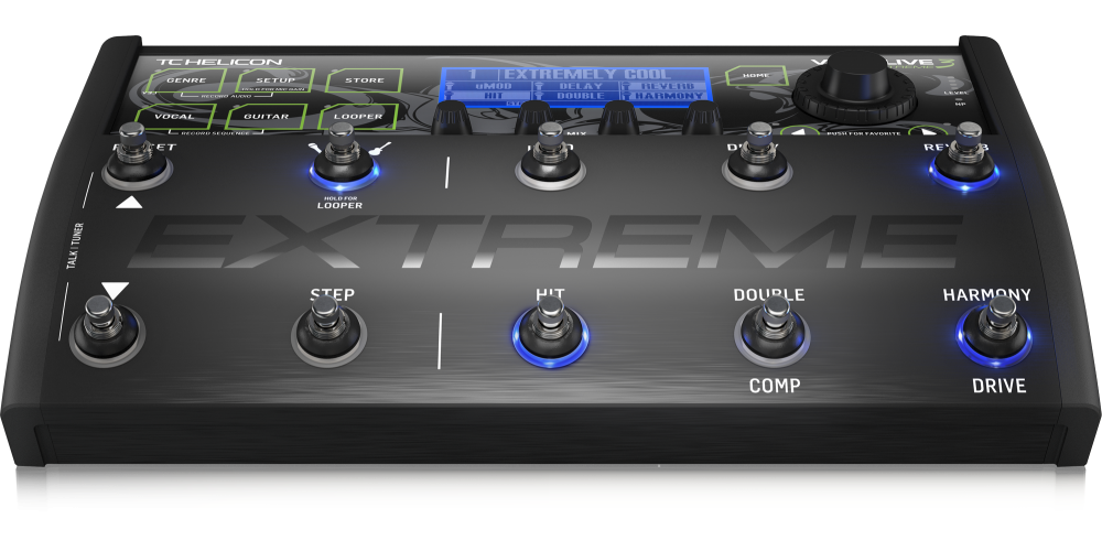 tc helicon voicelive 3 extreme efectos pedal vocal