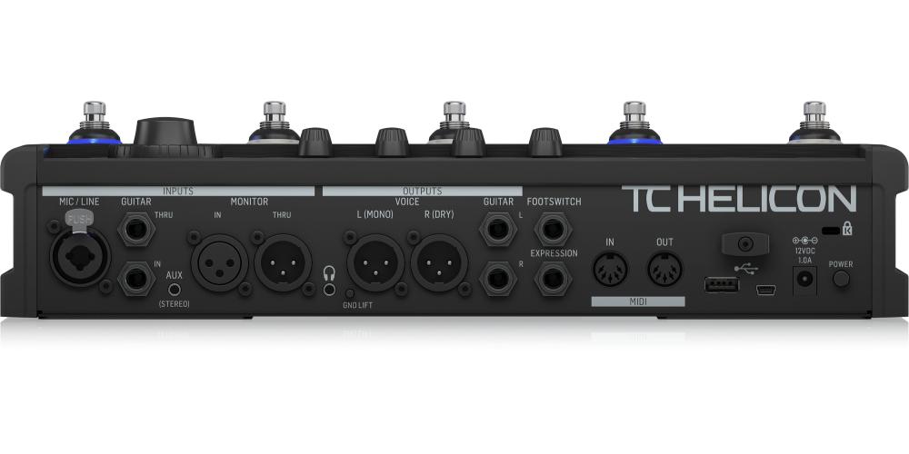 tc helicon voicelive 3 extreme pedal efectos voz