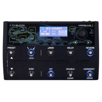 TC Helicon VoiceLive 3 Extreme Pedal
