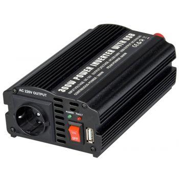 Inversor 300 DC a AC de 300 W con USB