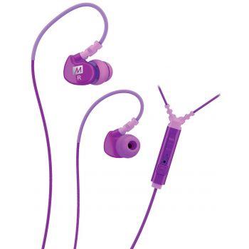 Mee Audio M6P Morado Auriculares deportivos In Ear con control