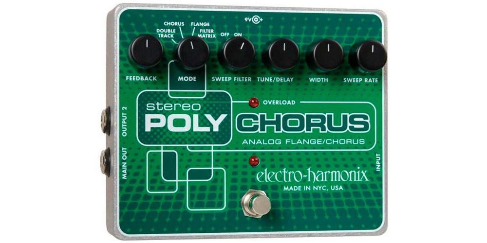 electro harmonix xo stereo polychorus
