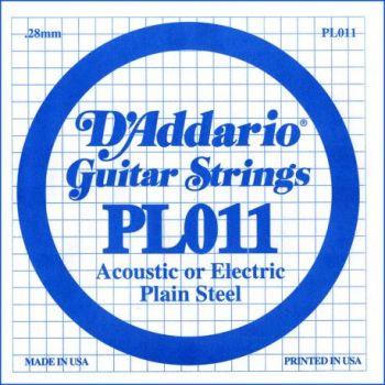 D Addario PL011 Cuerdas Guitarra Eléctrica
