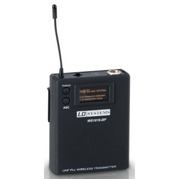 LD Systems Sweet SixTeen BP B5 Petaca Transmisora