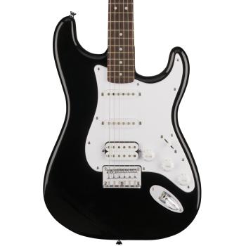 Fender Squier Bullet Stratocaster Hard Tail RW HSS Black