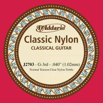 D´addario J2703 Cuerdas para Guitarra Española