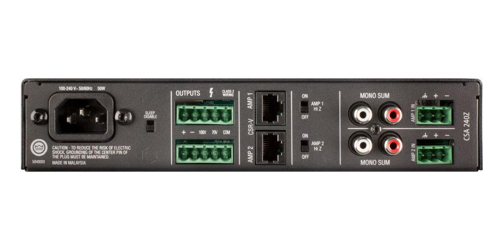 Comprar JBL CSA240Z Amplificador de 2 canales