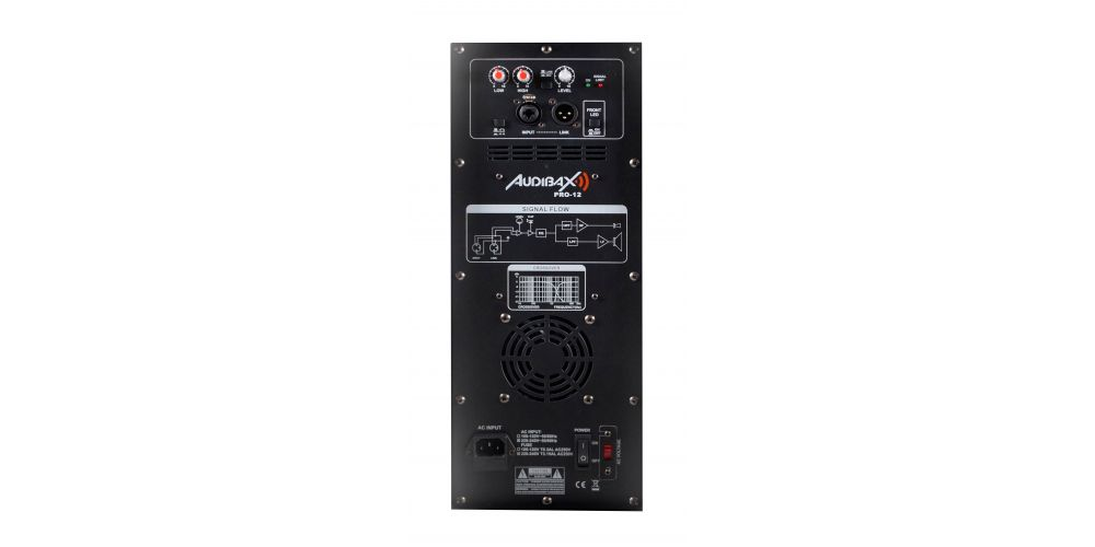 audibax pro12 conexiones