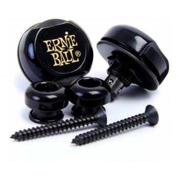 Ernie Ball 4601 Strap Loock Enganche Correa Negro