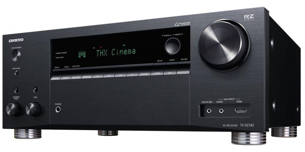ONKYO TX RZ740 Black Receptor AV 9 2 canales